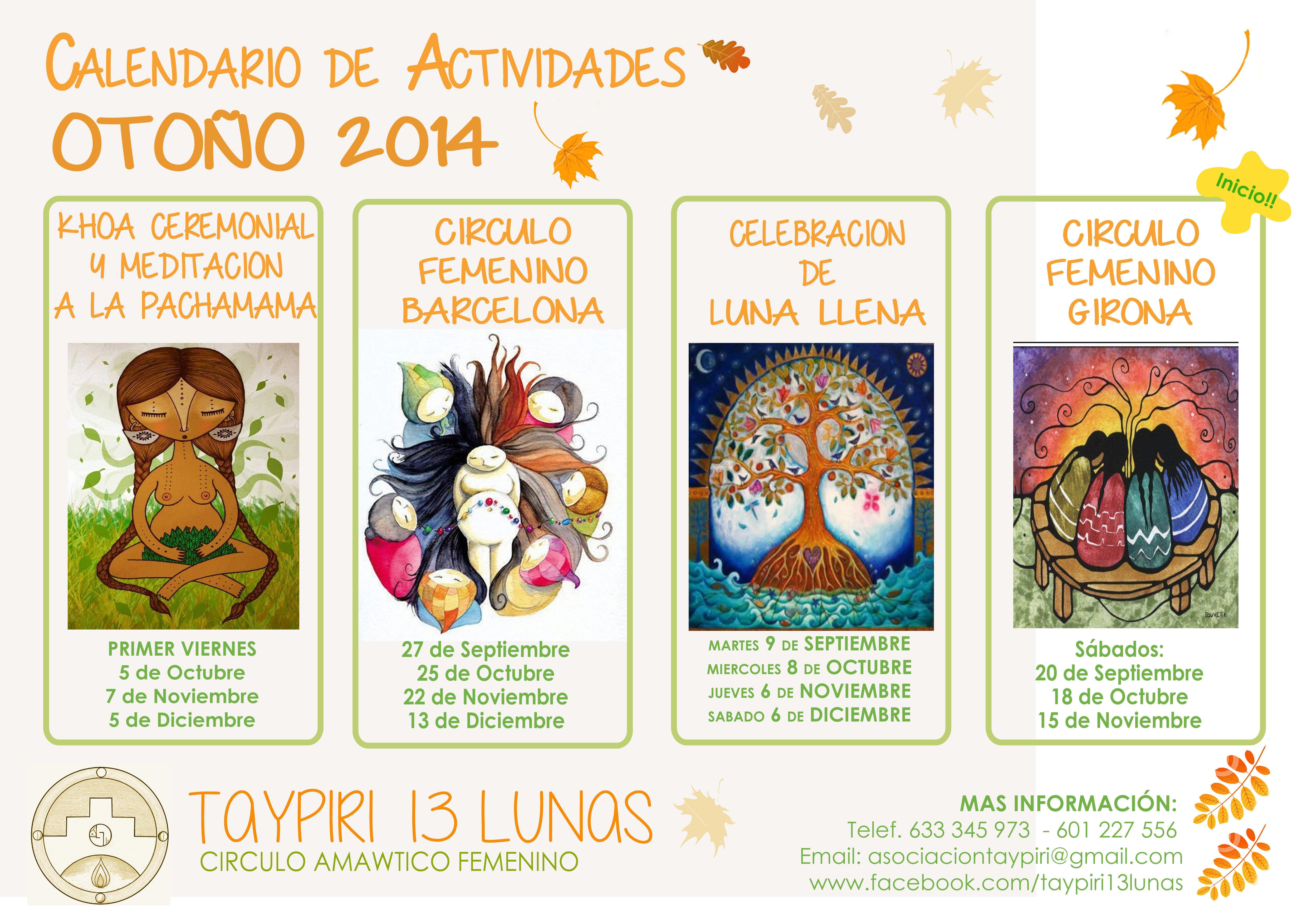 calendariotoño2014